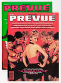 Memorabilia:Movie-Related, Mediascene Preview Group (L. K. Publications, 1980).... (Total: 2Items)
