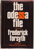 Books:Mystery & Detective Fiction, Frederick Forsyth. The Odessa File. New York: Viking,[1972]. First edition, first printing. Octavo. 337 pages. Publ...