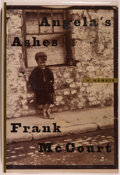 Books:Biography & Memoir, Frank McCourt. SIGNED. Angela's Ashes. [New York]: Scribner,[1996]. First edition, first printing. Signed by McCo...