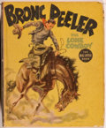 Books:Children's Books, [Big Little Book]. Fred Harman. Bronc Peeler: The LoneCowboy. Racine: Whitman, [1937]. Square sixteenmo. 424pages....