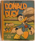 Books:Children's Books, [Big Little Book]. Walt Disney. Donald Duck: Up in the Air.Racine: Whitman, 1945. Square sixteenmo. 346 pages. Publ...