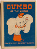 Books:Children's Books, [Walt Disney]. Dorothy Walter Baruch. Walt Disney's Dumbo of the Circus. Boston: D. C. Heath, [1948]. Octavo. 90 pag...