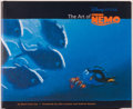 Books:Art & Architecture, [Walt Disney]. Mark Cotta Vaz. SIGNED. The Art of Finding Nemo. San Francisco: Chronicle Books, [2003]. First editio...