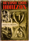 Books:Science Fiction & Fantasy, Robert A. Heinlein. Beyond This Horizon. Reading: Fantasy Press, 1948. First edition, first printing. Currey binding...