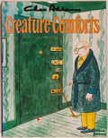 Books:Art & Architecture, Charles Addams. SIGNED. Creature Comforts. New York: Simon and Schuster, [1981]. First edition, first printing. Si...