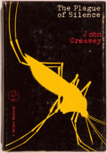 Books:Mystery & Detective Fiction, John Creasey. INSCRIBED. The Plague of Silence. New York:Walker, [1968]. First edition, first printing. Signe...