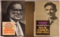 Books:Biography & Memoir, Isaac Asimov. Two Volume Autobiography, including: In Memory Yet Green 1920-1954. [1979]. [and:] In Joy Still Fe... (Total: 2 Items)