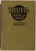Books:Science Fiction & Fantasy, Edgar Rice Burroughs. Thuvia: Maid of Mars. Chicago:McClurg, 1920. First edition, first printing. Octavo. 256 pages...