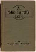 Books:Science Fiction & Fantasy, Edgar Rice Burroughs. At the Earth's Core. Chicago: McClurg, 1922. First edition, first printing. Octavo. 277 pages....