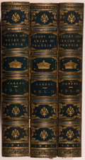 Books:World History, [French History]. Julia Pardoe. The Court and Reign of Francis the First: King of France. London: Richard Bentley an... (Total: 3 Items)