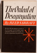 Books:Americana & American History, Reed Sarratt. INSCRIBED. The Ordeal of Desegregation: The FirstDecade. New York: Harper & Row, [1966]. First editio...