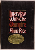 Books:Horror & Supernatural, Anne Rice. SIGNED. Interview with the Vampire. New York:Knopf, 1996. 20th anniversary edition. Signed by Rice. ...