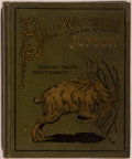 Books:Children's Books, Frances Trego Montgomery. Billy Whiskers Junior. Akron:Saalfield, [1904]. Large octavo. 140 pages. Publisher's ...