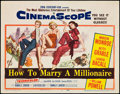 """Movie Posters:Comedy, How to Marry a Millionaire (20th Century Fox, 1953). Title Lobby Card (11"""" X 14""""). Comedy.. ..."""