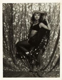 """Anna May Wong by Ruth Harriet Louise (MGM, Late 1920s). Portrait Photo (10"""" X 13"""")"""