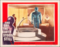 """Movie Posters:Science Fiction, The Day the Earth Stood Still (20th Century Fox, 1951). Lobby Card (11"""" X 14"""").. ..."""