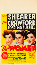 "Movie Posters:Comedy, The Women (MGM, 1939). Midget Window Card (8"" X 14"").. ..."
