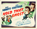 "Movie Posters:Comedy, Hold That Ghost (Universal, 1941). Title Lobby Card (11"" X 14"")....."