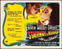 "Stairway to Heaven (Universal International, 1946). Title Lobby Card (11"" X 14"")"
