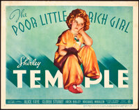 "The Poor Little Rich Girl (20th Century Fox, 1936). Title Lobby Card (11"" X 14"")"