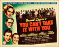 "Movie Posters:Academy Award Winners, You Can't Take It With You (Columbia, 1938). Title Lobby Card (11""X 14"").. ..."