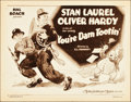 "Movie Posters:Comedy, You're Darn Tootin' (MGM, 1928). Title Lobby Card (11"" X 14"").. ..."