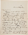 Autographs:Celebrities, Annie Oakley: An Important Content Seven Page Letter toBrother-in-law William Butler. ...