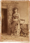Photography:Cabinet Photos, Annie Oakley: An Early Cabinet Photo....
