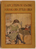 Books:Children's Books, Jane Eayre Fryer. Easy Steps in Sewing for Big and LittleGirls or Mary Frances Among the Thimble People.Oaklan...