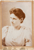 Photography:Cabinet Photos, Annie Oakley: A Lovely Cabinet Photo. ...
