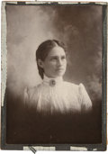 Photography:Cabinet Photos, Annie Oakley: A Formal Cabinet Photo....