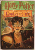 Books:Children's Books, J. K. Rowling. SIGNED. Harry Potter and the Goblet of Fire.[New York]: Arthur A. Levine/Scholastic, [2000]. Boo...