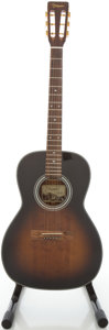 Musical Instruments:Acoustic Guitars, 2001 Takamine F005 TBS Tobacco Burst Acoustic Guitar, #01050183....