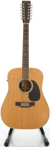 Musical Instruments:Acoustic Guitars, Circa 1977 Takamine F-400S Natural 12 String Acoustic Guitar,#777012526....