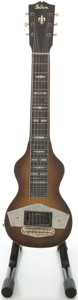 Musical Instruments:Lap Steel Guitars, 1940's Gibson EH Mahogany Lap Steel Guitar, #F7221-44....