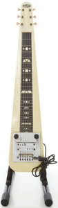 Musical Instruments:Lap Steel Guitars, 1950 Supro MOTS Lap Steel Guitar, #V25812....