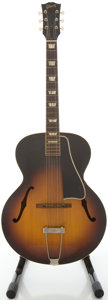 Musical Instruments:Acoustic Guitars, 1958 Gibson L-50 Sunburst Archtop Acoustic Guitar, #T2741 23....