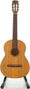 Musical Instruments:Acoustic Guitars, Circa 1960's Vintage Natural Classical Guitar....