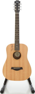 Musical Instruments:Acoustic Guitars, 2003 Taylor Baby 305 Natural Acoustic Guitar, #20030331325....