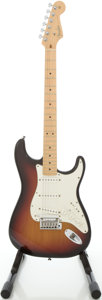 Musical Instruments:Electric Guitars, 2007 Fender VG Stratocaster USA Sunburst Solid Body ElectricGuitar, #Z7040173....