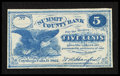 Obsoletes By State:Ohio, Cuyahoga Falls, OH- W.A. Hanford payable at Summit County Bank 5¢Oct. 1862. ...