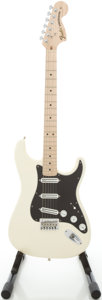 Musical Instruments:Electric Guitars, 2007 Fender Billy Corgan Signature Model Stratocaster White SolidBody Electric Guitar, #SZ7322734....