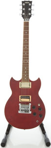 Musical Instruments:Electric Guitars, Circa Early 1980's Yamaha SG500 Cherry Solid Body Electric Guitar,#029814....