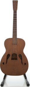 Musical Instruments:Acoustic Guitars, 1935 Martin R-17 Mahogany Archtop Acoustic Guitar, #60075....