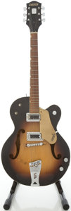 Musical Instruments:Electric Guitars, 1962 Gretsch 6117 Sunburst Archtop Electric Guitar, #49088....