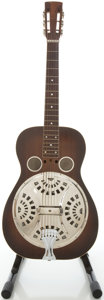 Musical Instruments:Acoustic Guitars, Circa 1933 Dobro Resonator Model 35 Mahogany Resonator Guitar, #3501....