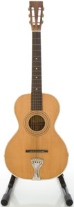 Musical Instruments:Acoustic Guitars, Circa 1940's Stella Parlor Refinished Acoustic Guitar....