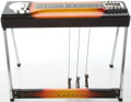 Musical Instruments:Lap Steel Guitars, Circa 1965 Fender 400 Sunburst Pedal Steel Guitar, #02283....