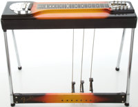 Circa 1965 Fender 400 Sunburst Pedal Steel Guitar, #02283