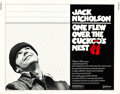 """Movie Posters:Academy Award Winners, One Flew Over the Cuckoo's Nest (United Artists, 1975). Half Sheet (22"""" X 28"""").. ..."""